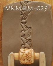 TEXTUR ROLLSTEMPEL  RM-029  L 3CM, <br><i>Preis pro Stück</i>